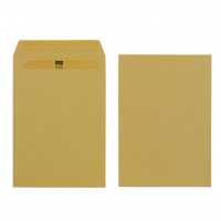 Initiative Envelope C4 Self Seal Heavy Weight 115gsm Manilla Pack 250