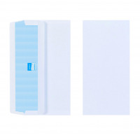 Initiative Envelope DL Self Seal Plain Banker 80gsm White Pack 1000