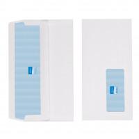Initiative Envelope DL Self Seal Window Banker White 80gsm Pack 1000