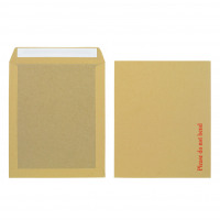 Initiative Envelope Board back Peel & Seal 318x267mm 115gsm Manilla Pack of 125