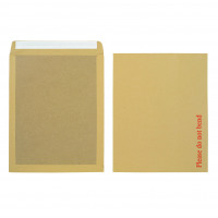 Initiative Envelope Boardbacked Peel n Seal 15.5 x 12.5 inches 115gsm Manilla Pack of 50
