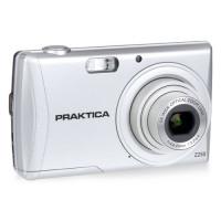 Praktica Luxmedia Z250 Silver Camera Kit Inc 16Gb Sdhc Class 10 Card & Case