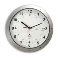 Round Wall Clock 30cm Grey
