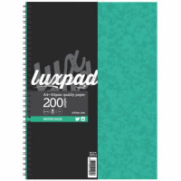 Lined 160 Pages WX01072 12 x A4 Spiral Wiro Bound Notebook Pads Feint Ruled
