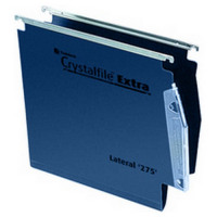 Crystalfile Extra 275 Lateral Suspension File Standard Blue Box 25