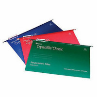 Crystalfile Suspension File A4 Rec With Tabs/Inserts Box 50