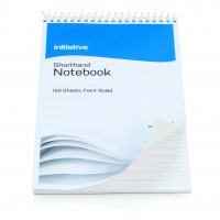 Initiative Shorthand Notebook 300 Pages 203x127mm (8x5 Inch) 60gsm