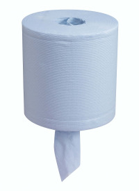 Wypall L30 Centrefeed Wiper Roll Blue 7302
