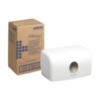 Kimberly Clark AQUARIUS C-Fold Hand Towel Dispenser W287xD142xH159mm Plastic White Ref 6956