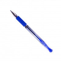 Uni-Ball Signo Gel Grip Rollerball Pen Medium Blue (Pack of 12) 9003951
