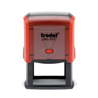 Trodat Printy TVC4927 Bespoke Custom Stamp Self-Inking Up to 8 lines Ref 156322