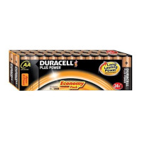 Duracell Plus Power Battery Alkaline 1.5V AA Ref 81275383 [Pack 24] [x2 & FREE Bunny] Apr-Sep 2017