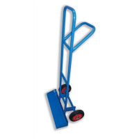5 Star Facilities Carrying Trolley for Stacking Chairs with Steel Frame 2 Rubber Wheels