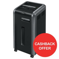 Fellowes 225Ci Shared Workspace Shredder Cross-cut DIN2 P-4 Ref 462210 [Cashback Offer] Jul-Sep 2017