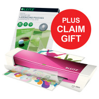 Leitz Laminator Pink A4 &Pouch &Remp May-Sep 2018