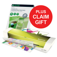 Leitz Laminator Green A4 &Pouch &Remp May-Sep 2018