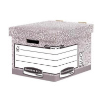 Fellowes Bankers Box Heavy Duty Standard Storage Box Ref 0081801 [Pack 10]