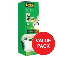 Scotch Magic Tape Value Pack 19mmx33m Matt Ref 8-1933R8 [7 Rolls & 1 FREE]