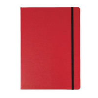 Red By BlackNRed Business Journal Book Hard Cover 90gsm Numbered Pages B5 Ref 400051200