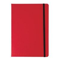 Red By BlackNRed Business Journal Book Soft Cover 90gsm Numbered Pages A5 Ref 400051201