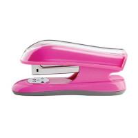 Rexel JOY Stapler Half Strip Capacity 20 Sheets Pretty Pink Ref 2104022