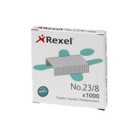 Rexel No.23 23/8 Staples Steel Ref 2101054 [Pack 1000]