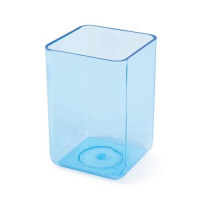 Executive Pen Tidy Polystyrene Complements Executive Letter Tray and Magazine File Ice Blue