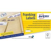 Avery Auto Franking 1 Per Sheet 175x40mm White Ref FL10 [1000 Labels]