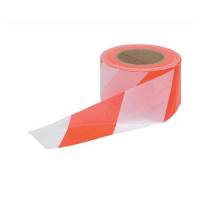 5 Star Office Barrier Tape in Dispenser Box 72mmx500m Red and White
