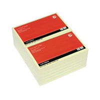 5 Star Office Re-Move Notes Repositionable Pad of 100 Sheets 76x127mm Yellow [Pack 12]