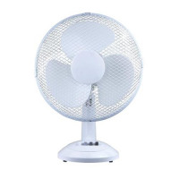 5 Star Facilities Desk Fan Oscillating Tilt and Lock 48.5Db 3-Speed H500mm Dia.305mm