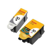 Kodak 30B & 30CL Inkjet Cartridge Black and Colour Ref 9039745 [Pack 2]