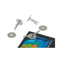 Paper Binders Tinned Steel with Washers 13mm [Pack 200]