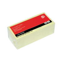 5 Star Office Re-Move Notes Repositionable Pad of 100 Sheets 38x51mm Yellow [Pack 12]