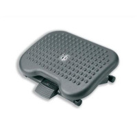 Footrest Tilting Adjustable H95-170mm Charcoal