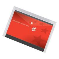 5 Star Office Envelope Stud Wallet Polypropylene A4 Transparent Clear [Pack 5]