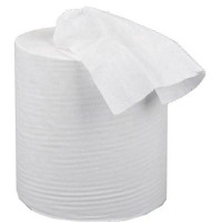 5 Star Facilities Centrefeed Tissue Refill for Jumbo Dispenser Two-ply L150mxW195mm White [Pack 6]