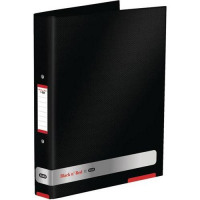 Black n Red by Elba Ring Binder Size 25mm A4 Ref 400051510 [x3 and FREE A5 Notebook] Jan-Dec 2016
