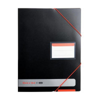 Black n Red by Elba Display Book Opaque Ref 400050725 [x3 and FREE A5 Notebook] Jan-Dec 2016