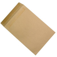 5 Star Office Envelopes Recycled Heavyweight Pocket P&S 115gsm Manilla 382x254mm [Pack 250]