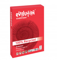 Evolution Everyday A4 Recycled Paper 80gsm White (Pack of 2500) EVE2180