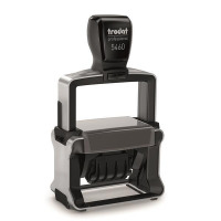 Trodat Professional 5460 Bespoke Line Dater Stamp Self-Inking 4mm Date 55x32mm Text Area Ref 156326