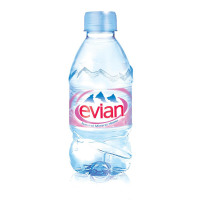 Evian Natural Mineral Water Still Bottle Plastic 330ml Ref 01310 [Pack 24]