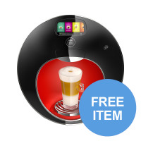 Nescafe Dolce Gusto Majesto Coffee Machine 1.8L Ref 12360980 [FREE Assorted 240 x Pods] Apr-Dec 19