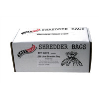 Robinson Young Safewrap Shredder Bags 250 Litre Ref RY0474 [Pack 50]