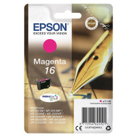 Epson 16 Inkjet Cartridge Pen & Crossword Page Life 165pp 3.3ml Magenta Ref C13T16234012
