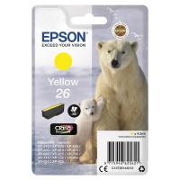Epson 26 Inkjet Cartridge Polar Bear Page Life 300pp 4.5ml Yellow Ref C13T26144012