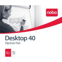 Nobo Barracuda Desktop Flipchart Pad 40 Sheets B1 583x485mm Ref 34631170