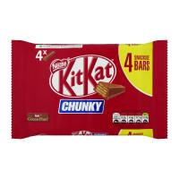 Nestle Kit Kat Chunky Ref 12261787 [Pack 4]