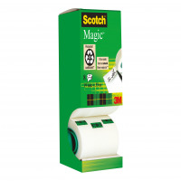 Scotch Magic Tape Value Pack 19mmx33m Matt Ref 8-1933R8 [7 Rolls & 1 FREE]